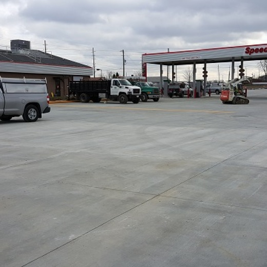 Concrete Lot Completed