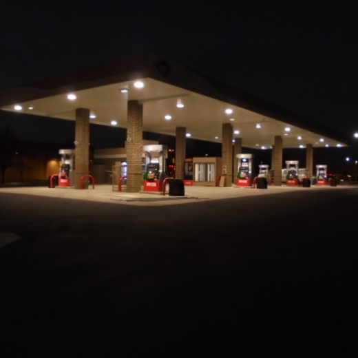 Finished Store at Night