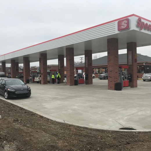 Turnover Day for Speedway in Canton