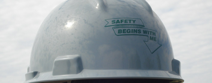 Safety Begins with Me Helmet